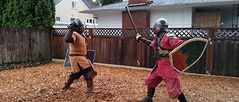 Heavy Fighters at Yule Tourney